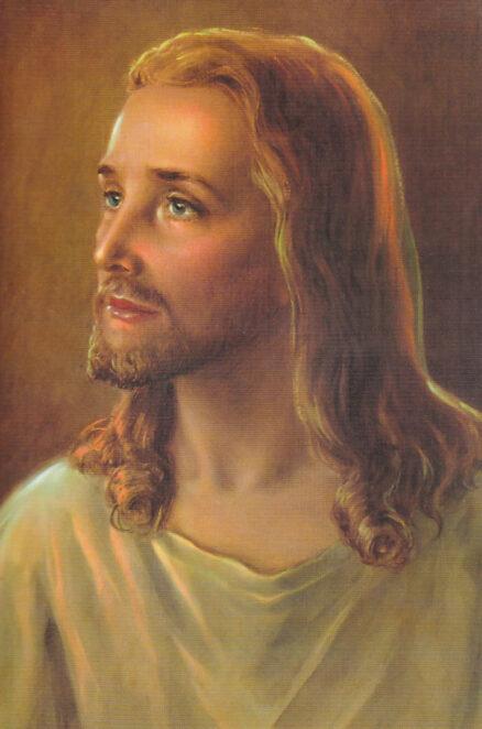 Postkaart-Jeesus-portreena