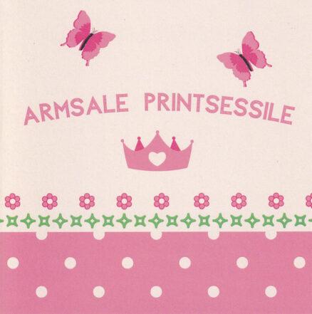 Postkaart-Armsale-printsessile