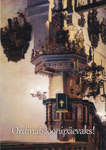Postkaart-Ordinatsioonipäevaks